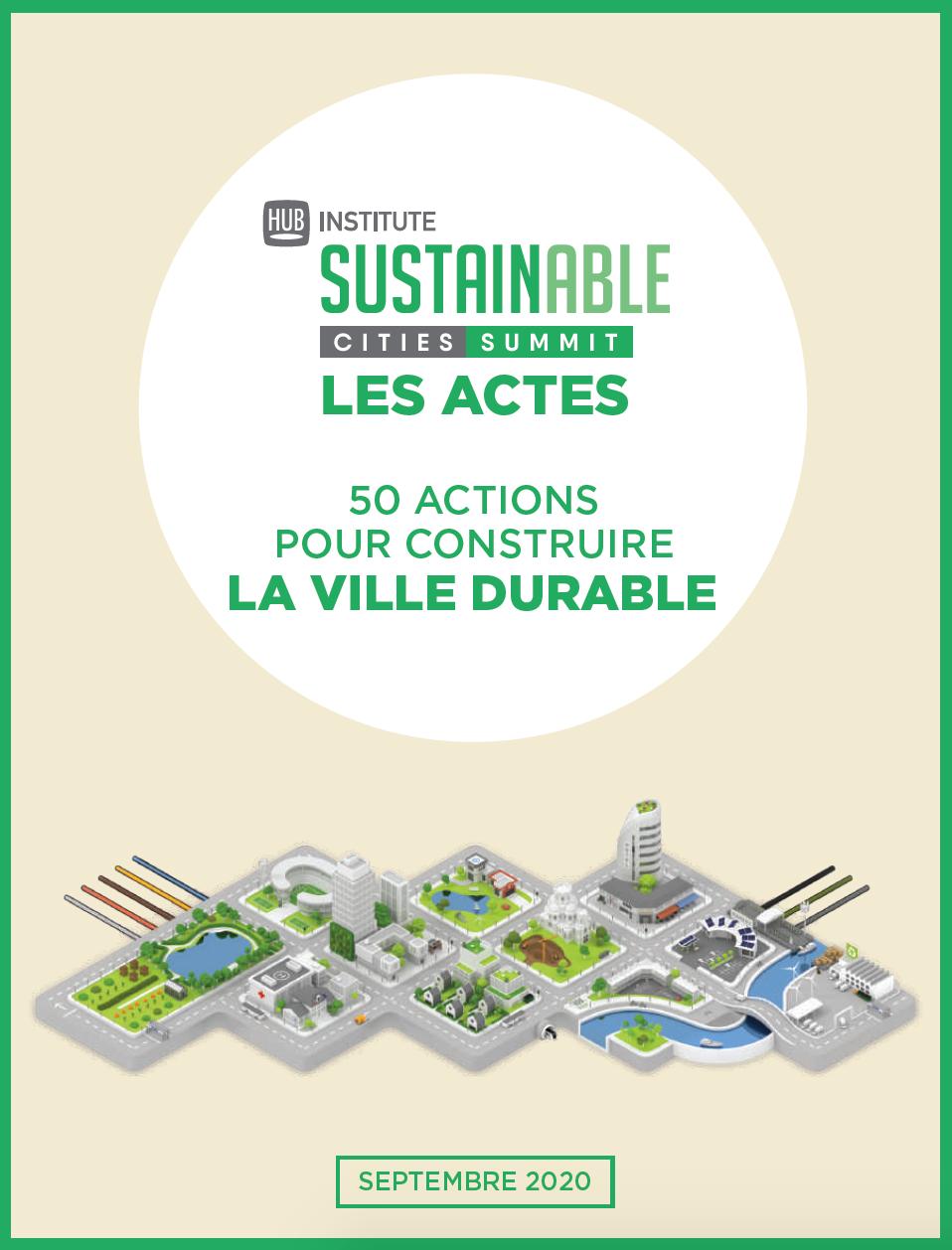 50 ACTIONS POUR CONSTRUIRE LA VILLE DURABLE