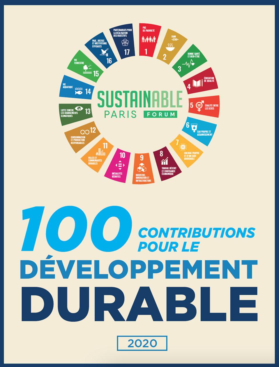100 contributions pour le développement durable