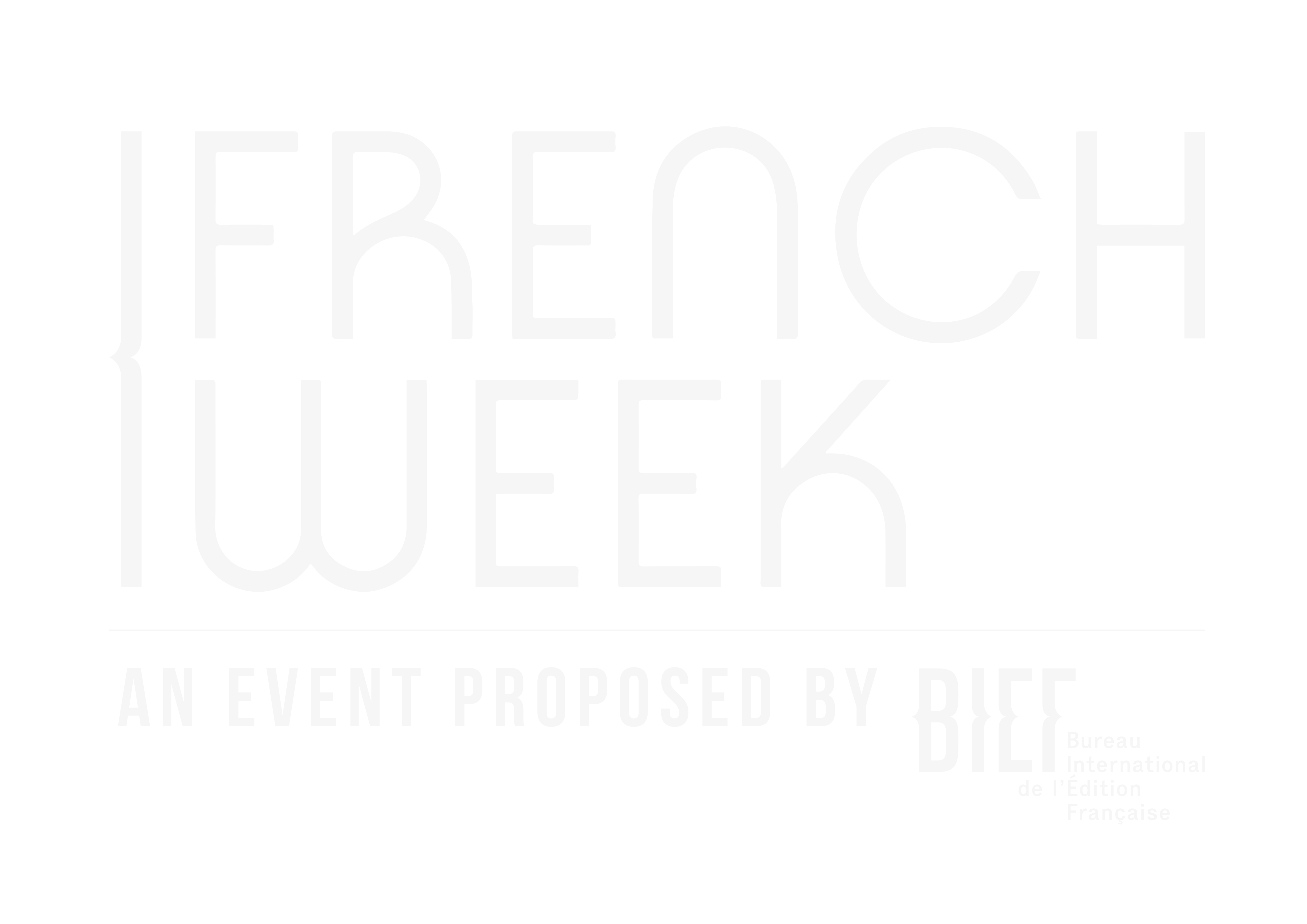 FRENCH WEEK, by BIEF
