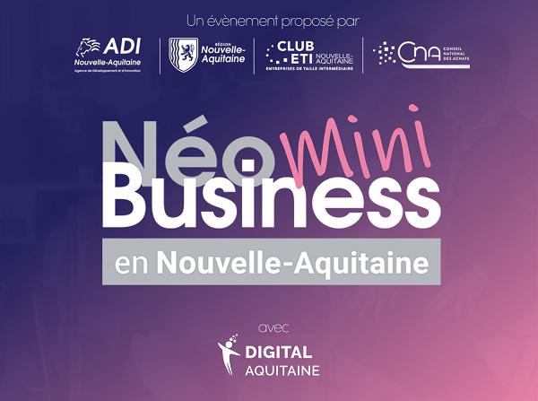Néobusiness en Nouvelle-Aquitaine 2021 La rencontre B2B digitale pour booster business & achats durables
